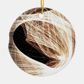 abstrakter Kunst-Wirbel - Abgrund Keramik Ornament