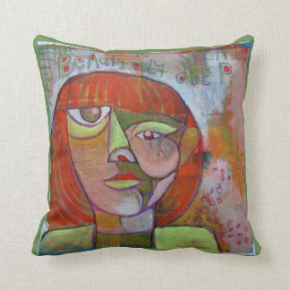 Abstrakter Kunstentwurf des Kissens Kissen