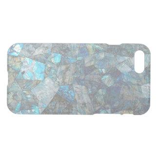 Abstrakter Labradorit-Mosaik-freier Raum iPhone iPhone 8/7 Hülle