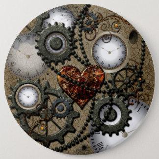 Abstrakter mechanischer Entwurf Runder Button 15,3 Cm