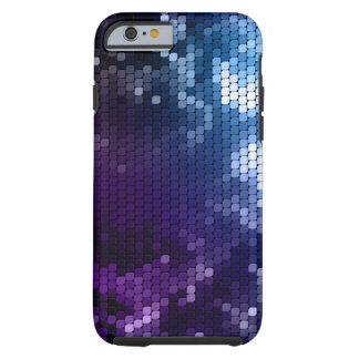 Abstrakter metallischer Glamour iPhone 6 Fall Tough iPhone 6 Hülle