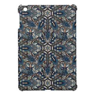 Abstrakter Musterentwurf des Blumenmandala iPad Mini Hülle