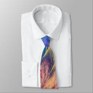 Abstrakter Regenbogen-bunte Malerei-Vorlagen-Kunst Individuelle Krawatten