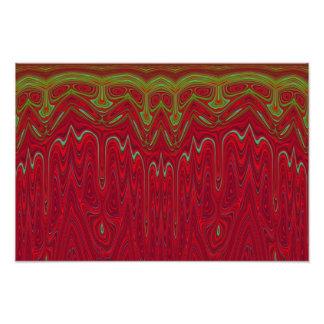 Abstrakter roter und grüner Stammes- Entwurf Photographie