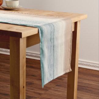abstrakter Tabellenläufer des blauen Großer Tischläufer