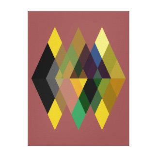 Abstraktes #726 leinwanddruck