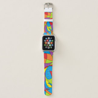 Abstraktes Apple-Uhrenarmband Apple Watch Armband