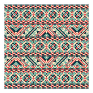 Abstraktes aztekisches Muster
