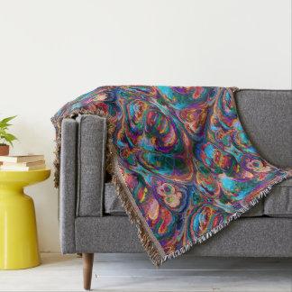 Abstraktes buntes hübsches der umfassenden Retro Decke