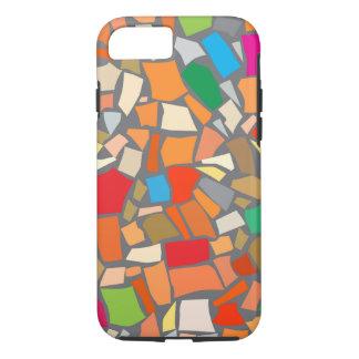 Abstraktes buntes Mosaik iPhone 8/7 Hülle