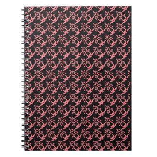 Abstraktes Entwurfs-Notizbuch Notizblock