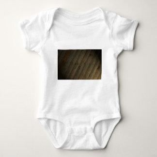 Abstraktes Fake-Holz-Korn Baby Strampler