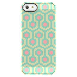 Abstraktes geometrisches Bienenstock-Muster Permafrost® iPhone SE/5/5s Hülle