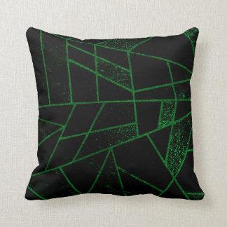 Abstraktes Grün #948 Kissen