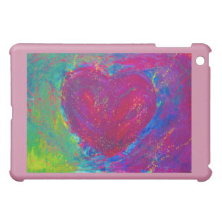 Abstraktes Herz iPad Mini Hülle