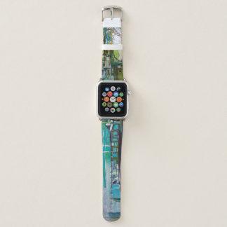 Abstraktes Kunst-Apple-Uhrenarmband Apple Watch Armband