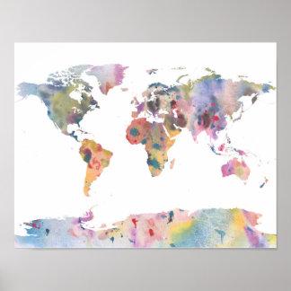 Weltkarten Poster auf Zazzle Schweiz