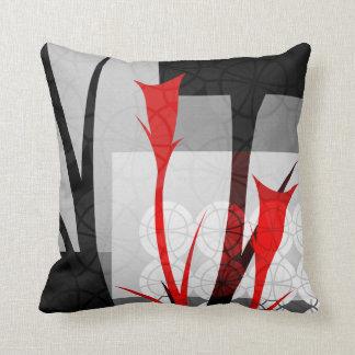 Abstraktes Lilienthrow-Kissen Kissen