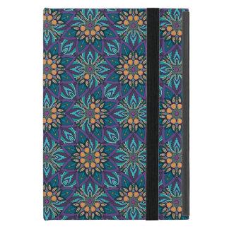 Abstraktes Muster des Blumenmandala iPad Mini Schutzhülle