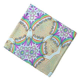 Abstraktes Muster-multi Farbfliese Halstücher