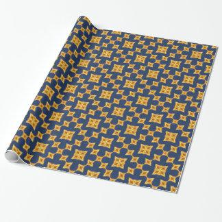 Abstraktes Pagoden-Muster Geschenkpapier