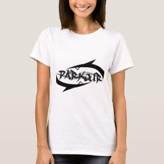 Abstraktes Parkour T-Shirt