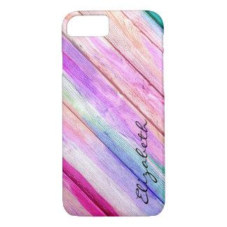 Abstraktes Pastellmuster #3 iPhone 7 Hülle