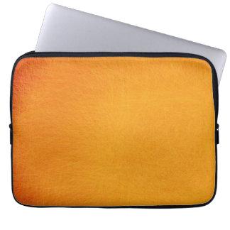 Abstraktes Retro Gelb 49 der Malerei-| Laptop Sleeve Schutzhüllen