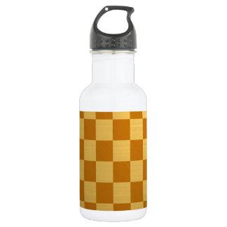 Abstraktes tägliches Schach-Brett Trinkflaschen