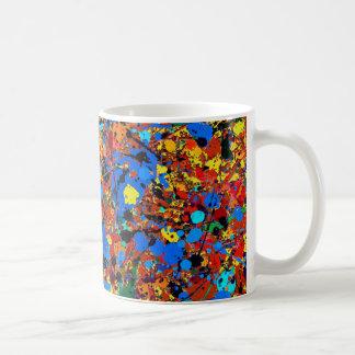 Abstraktes Veronica #744 Kaffeetasse