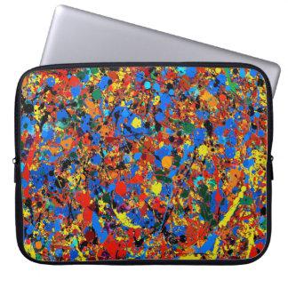 Abstraktes Veronica #744 Laptop Sleeve