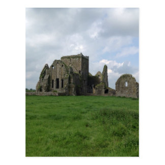 Abtei-Iren Irlands Hore ruinieren Felsen von Postkarte