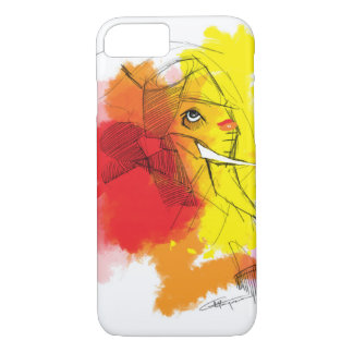 abtract Ganesha Malereien iPhone 7 Hülle