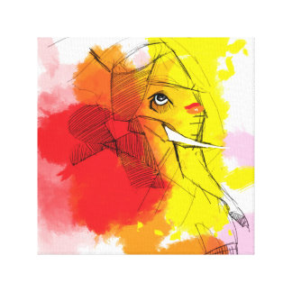 abtract Ganesha Malereien Leinwanddruck