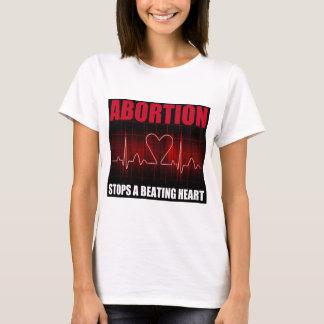 Abtreibung stoppt ein schlagendes Herz T-Shirt