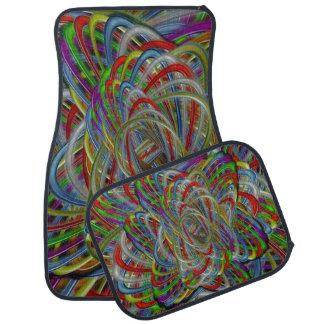 Abweichende Farben Autofußmatte