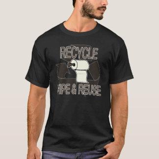 Abwischen und Wiederverwendung - für dunkle Shirts