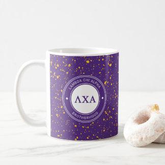 Abzeichen des Lambda-Chi-Alpha-  Kaffeetasse
