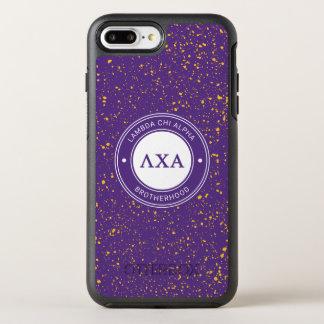 Abzeichen des Lambda-Chi-Alpha-  OtterBox Symmetry iPhone 8 Plus/7 Plus Hülle