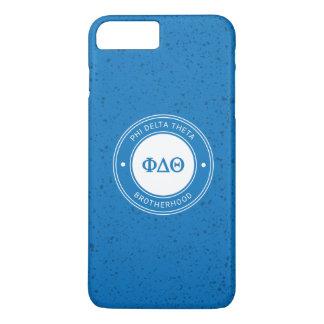 Abzeichen des Phi-Deltatheta-  iPhone 8 Plus/7 Plus Hülle