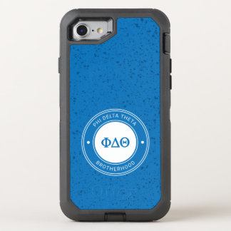 Abzeichen des Phi-Deltatheta-| OtterBox Defender iPhone 8/7 Hülle