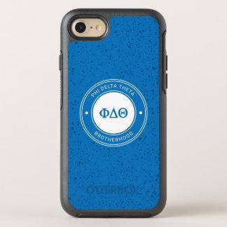 Abzeichen des Phi-Deltatheta-  OtterBox Symmetry iPhone 8/7 Hülle