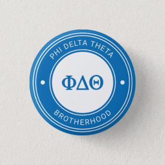 Abzeichen des Phi-Deltatheta-| Runder Button 2,5 Cm