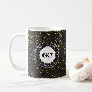 Abzeichen des Phi-Kappa-Sigma-  Kaffeetasse
