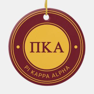 Abzeichen des PU-Kappa-Alpha-| Keramik Ornament
