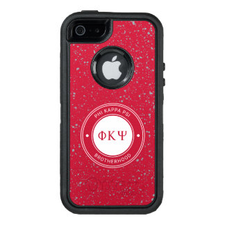 Abzeichen Phi-Kappa-P/in | OtterBox iPhone 5/5s/SE Hülle