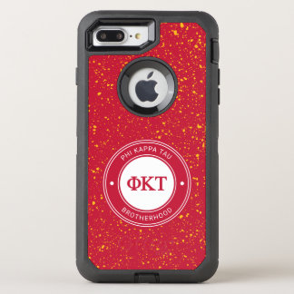 Abzeichen Phi-KappaTau | OtterBox Defender iPhone 8 Plus/7 Plus Hülle