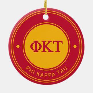 Abzeichen Phi-KappaTau | Rundes Keramik Ornament