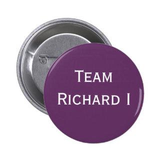 Abzeichen Team-Richard I Runder Button 5,1 Cm