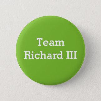 Abzeichen Team-Richard III Runder Button 5,7 Cm
